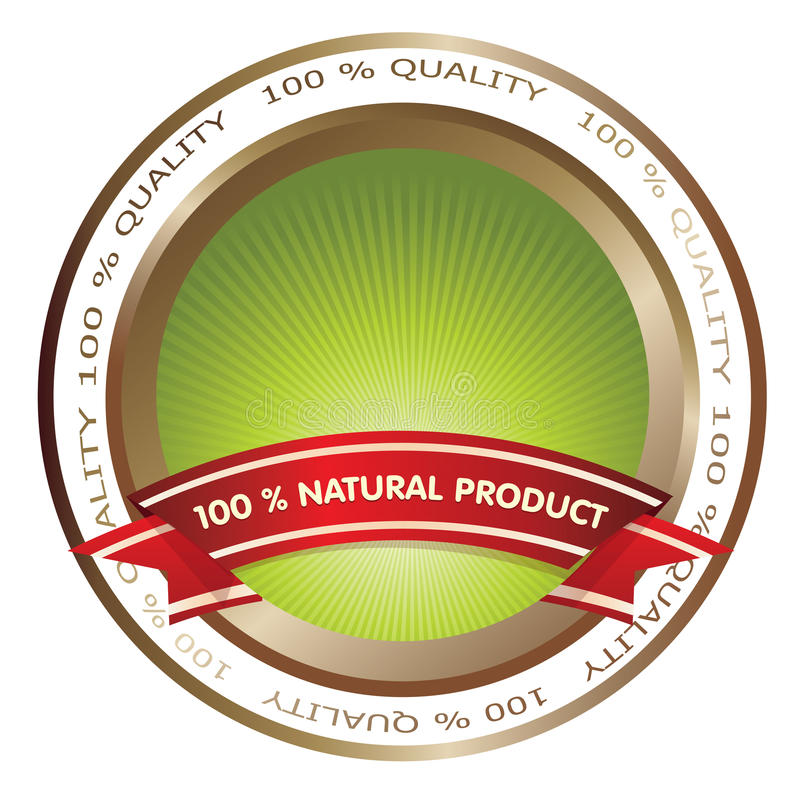 Download Qualit badge stock vector. Illustration of green, element - 13513989