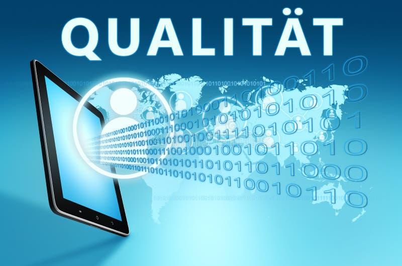 Qualitaet 向量例证