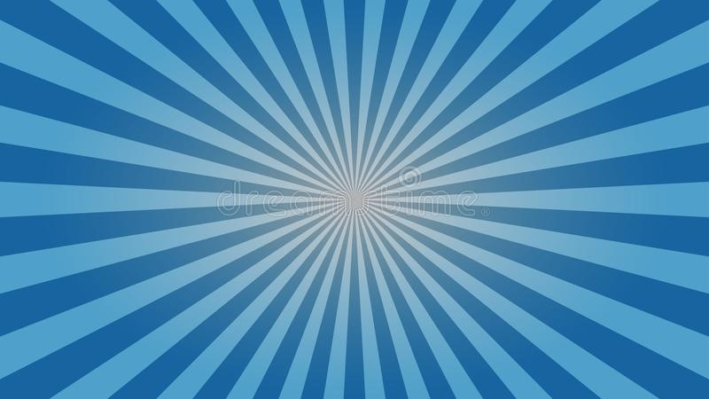 A Quality Clean And Subtle Light Blue Sunburst Wallpaper Design For Your Desktop