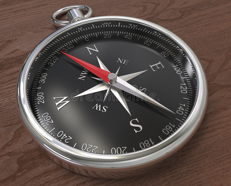 Quality compass royalty free stock photos