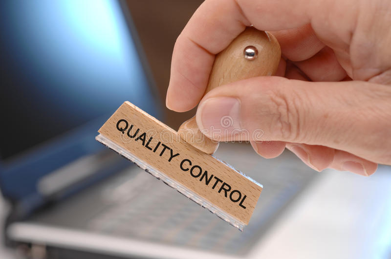 Quality control royalty free stock image