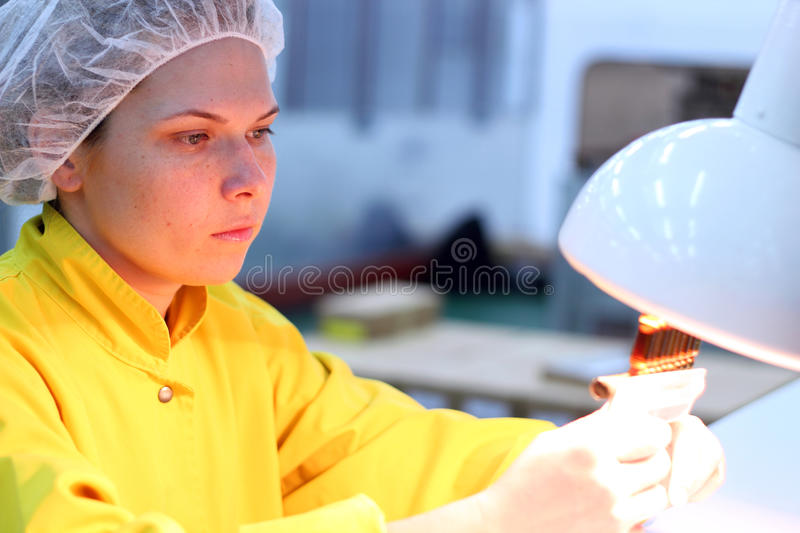 Download Quality Control Technician stock photo. Image of medicine - 18761684