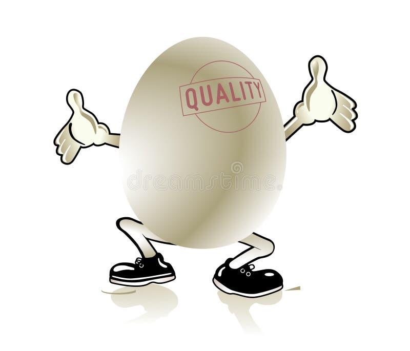 Quality egg royalty free illustration