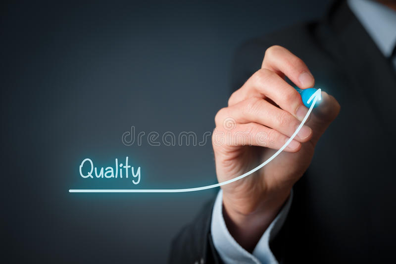 Quality improve royalty free stock photo