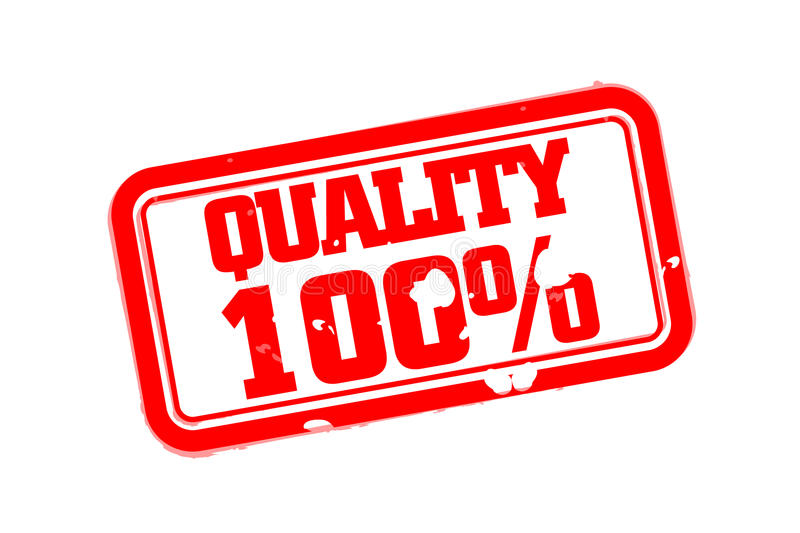 Download Quality 100 Percent Rubber Stamp Stock Vector - Image: 83716488