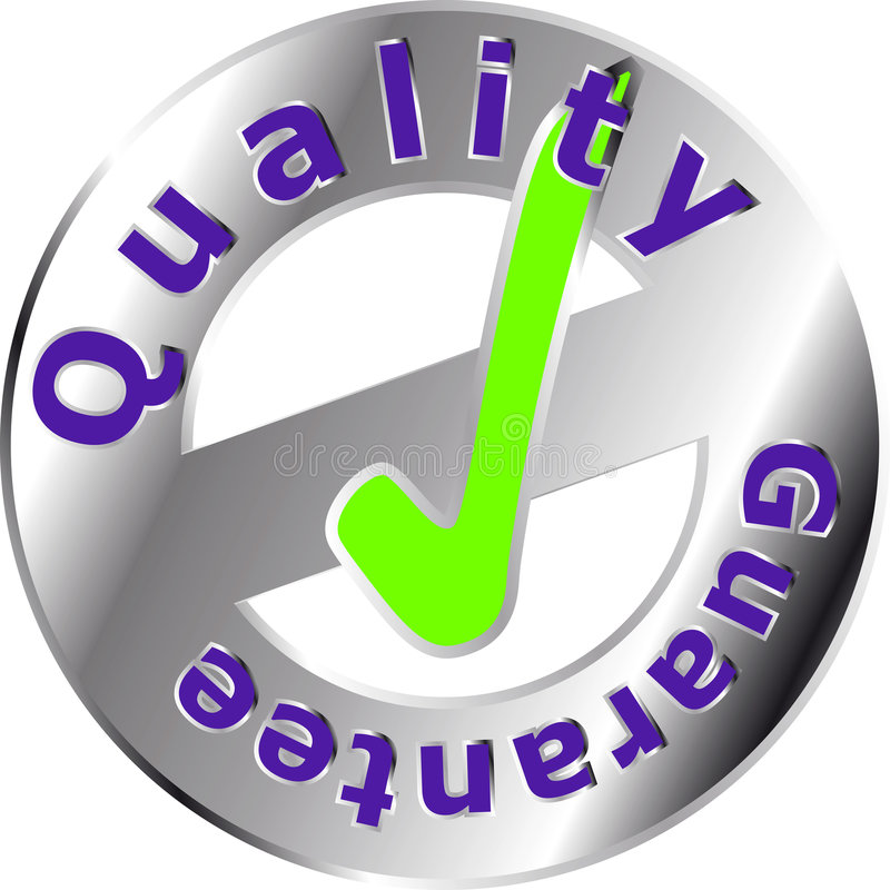Quality Seal royalty free illustration