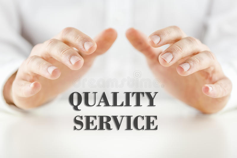 Quality Service stock images
