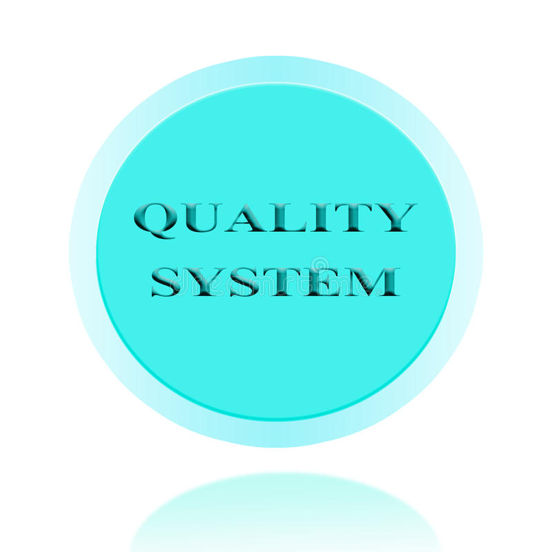 Quality system icon or symbol image concept design with business for business concept concept for stickers banners cards advertisement