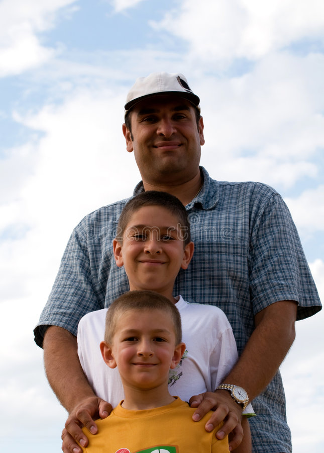 Download Quality Time-- Father And Sons Stock Image - Image: 8303263