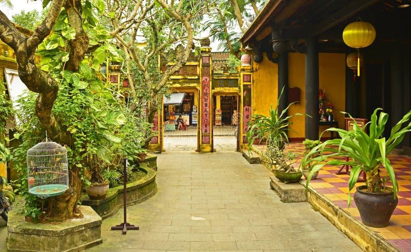 Quan Am Pagoda Grounds royaltyfri bild