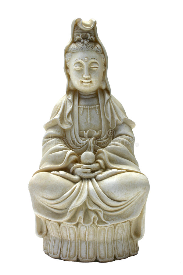 Download Quan Yin stock photo. Image of isolated, deity, enlightenment - 2723796