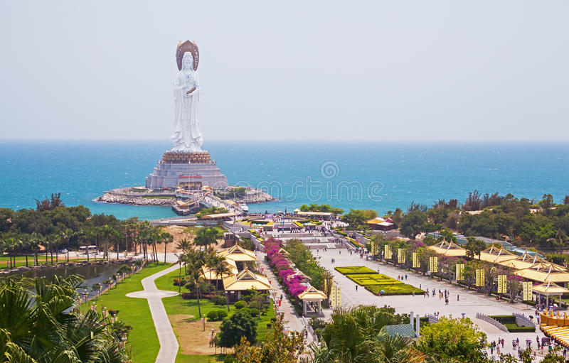 Quan Yin Hainan China stock foto
