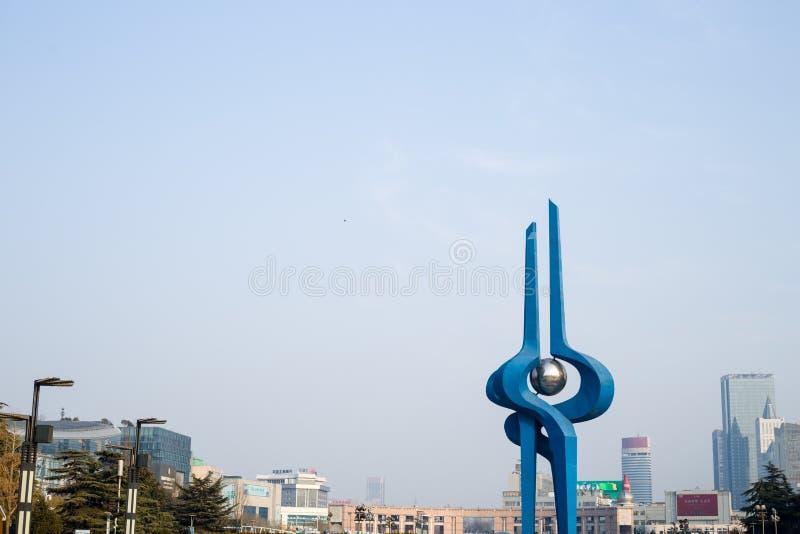 Quanchengvierkant stock foto