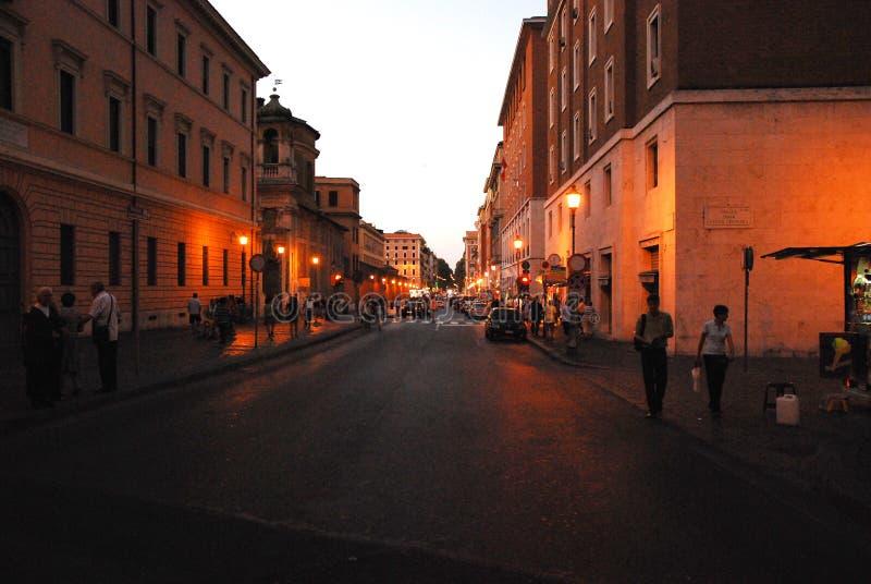 Quand à Rome images libres de droits