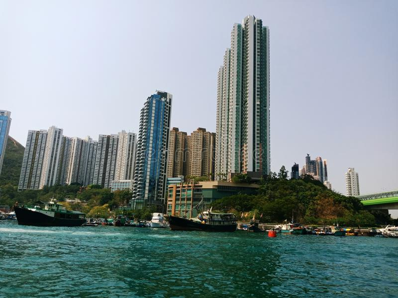 Quando em Hong Kong imagens de stock royalty free