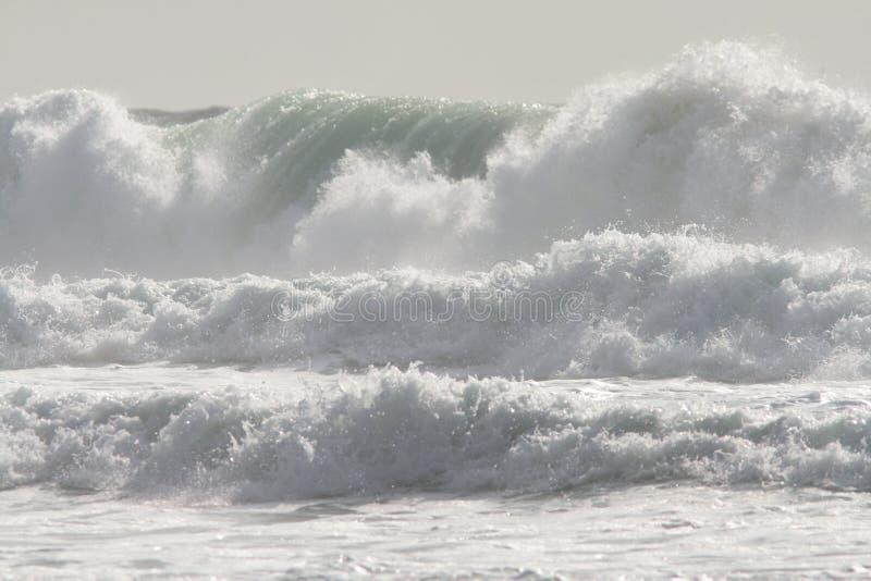 Quando la marea entra immagini stock
