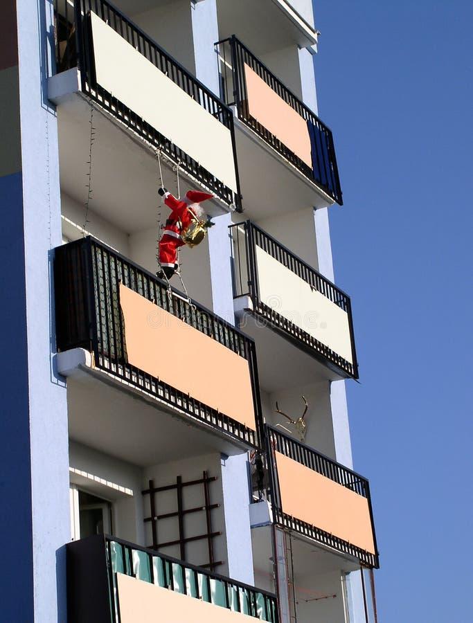Download Quando Papai Noel vier imagem de stock. Imagem de vermelho - 51329