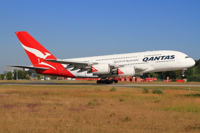 Quantas A380 photo libre de droits