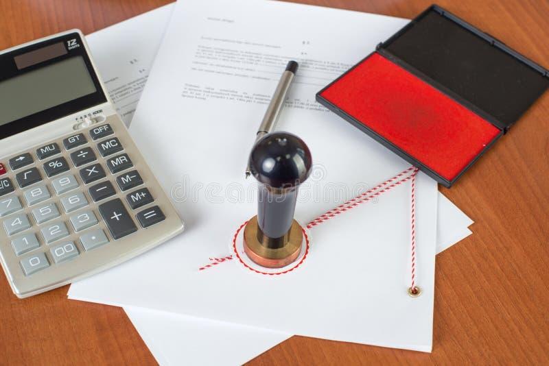 Quanto o serviço Notarial custará? foto de stock