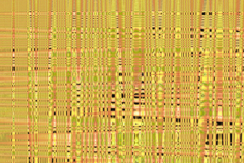 Quantum background. An abstract quantum wave like background with yellow and orange colors and other warm tones stock photography