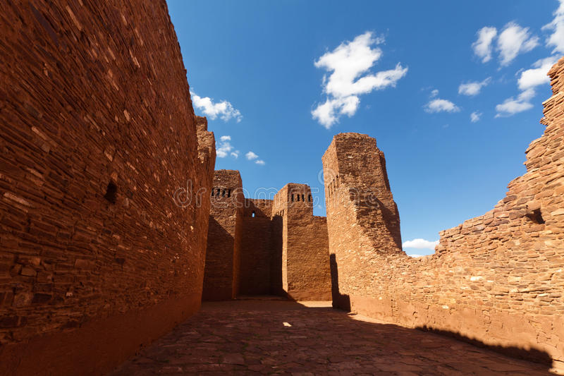 Download Quarai Ruins stock photo. Image of church, ancient, missions - 26456746