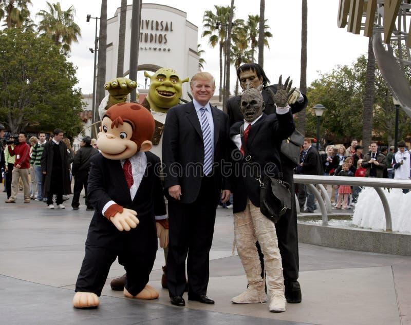 quarante-cinquième U S Le Président Donald Trump image libre de droits