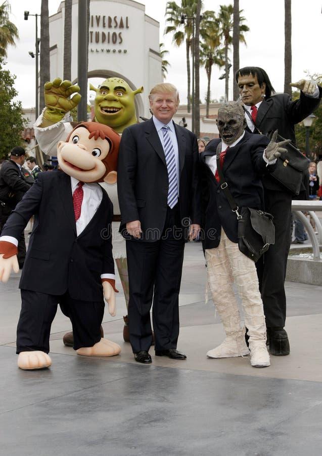 quarante-cinquième U S Le Président Donald Trump photographie stock libre de droits