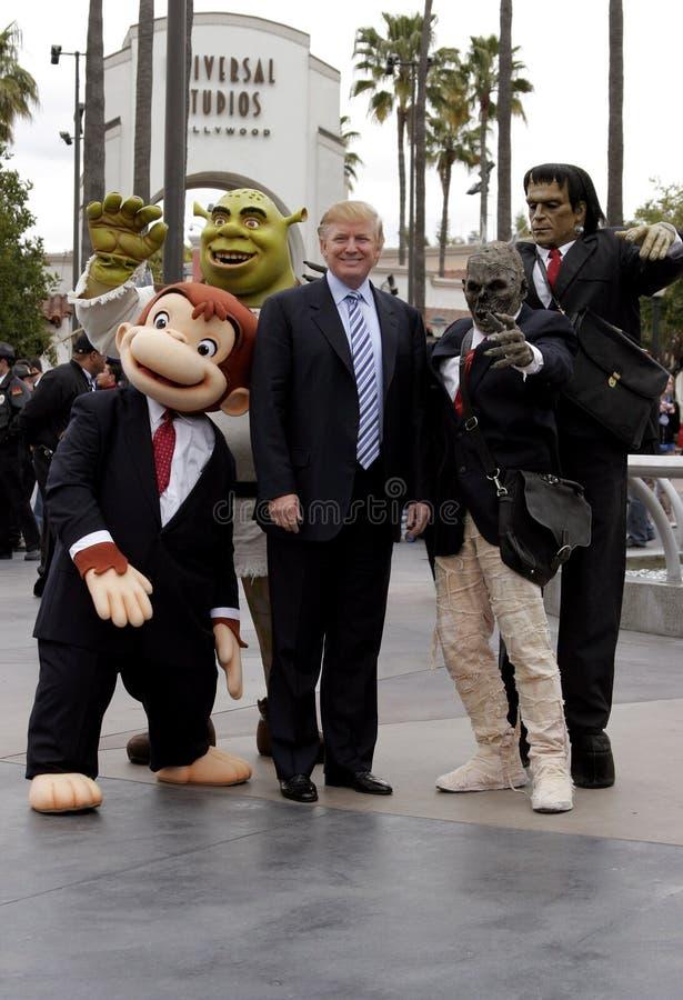 quarante-cinquième U S Le Président Donald Trump image stock