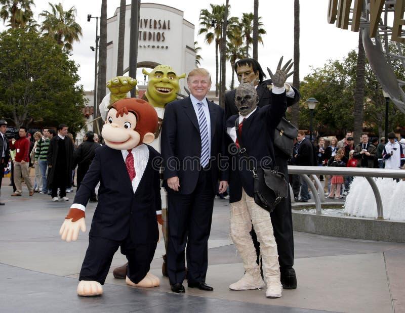 quarante-cinquième U S Le Président Donald Trump images libres de droits