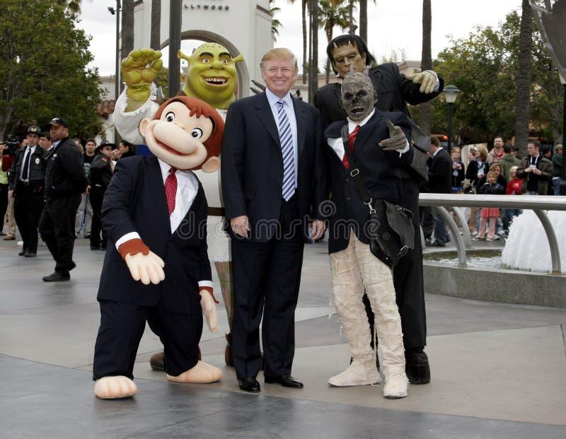 quarante-cinquième U S Le Président Donald Trump photographie stock