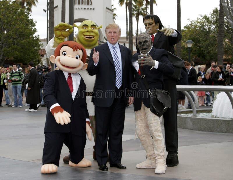 quarante-cinquième U S Le Président Donald Trump photos stock