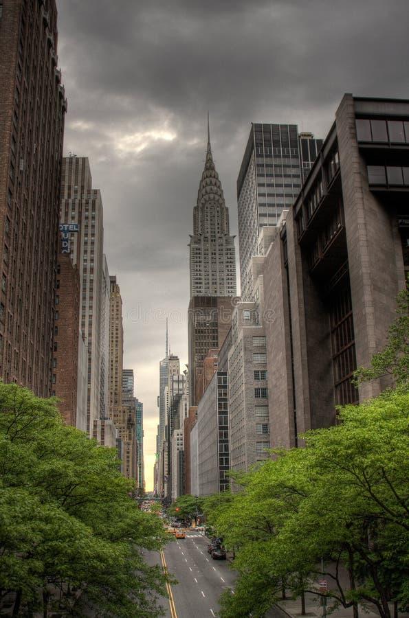 quarante-deuxième Rue, NYC image libre de droits