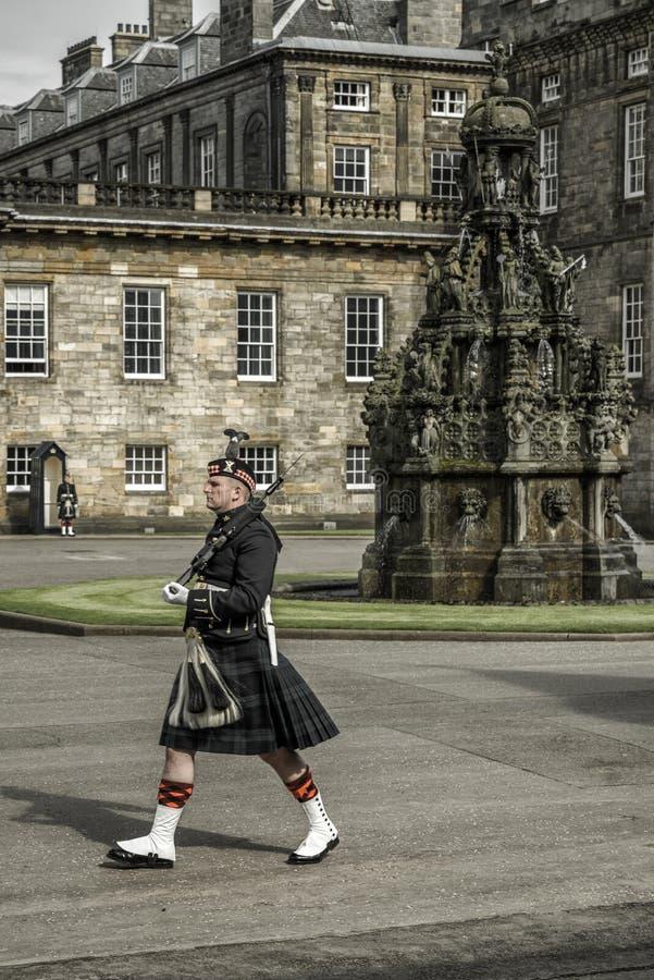 Quard da honra em Edimburgo foto de stock royalty free