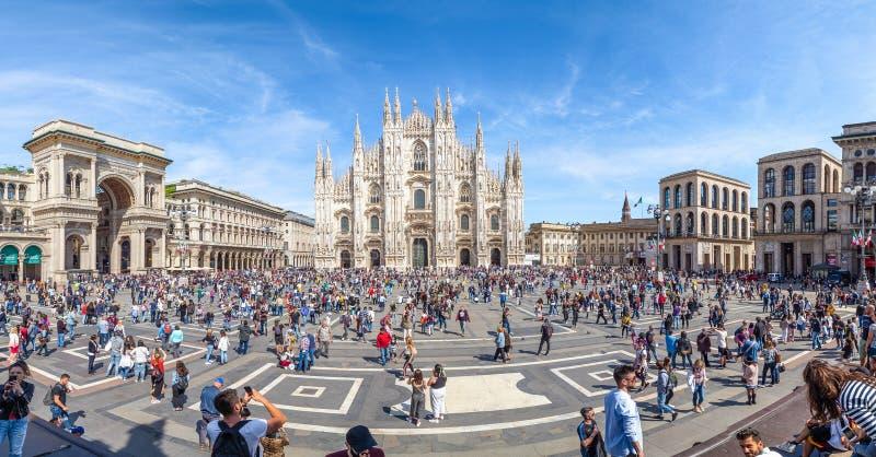 Quare Piazza Duomo imagem de stock royalty free
