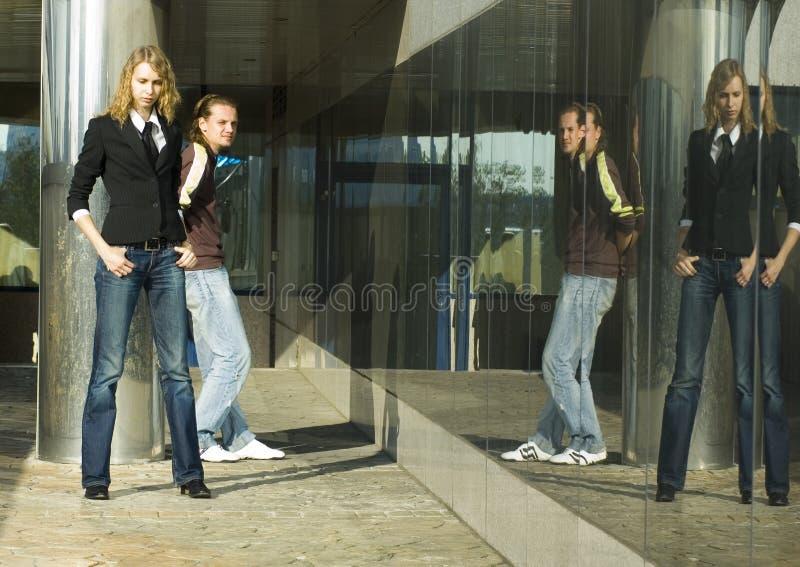 quarrel fotografia stock
