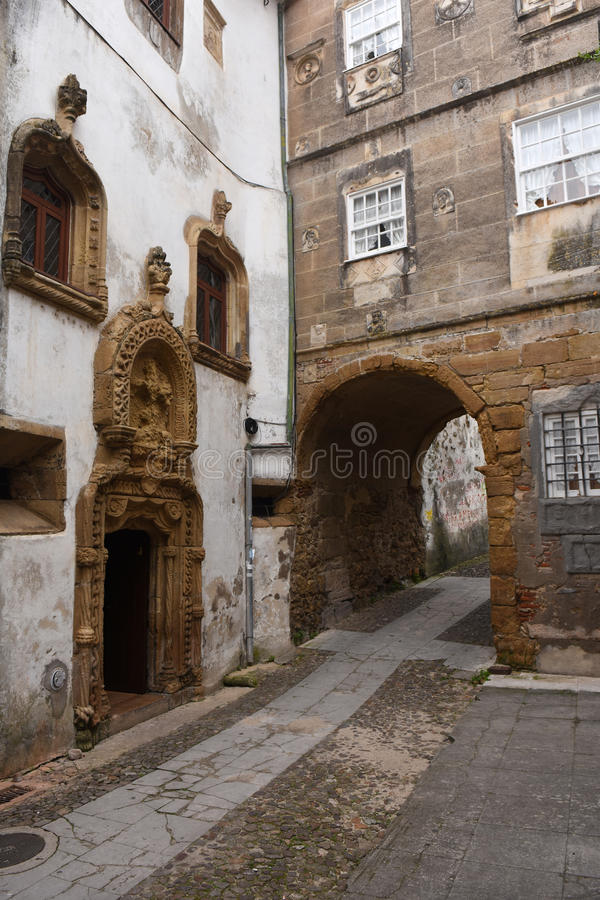Quarrel tower, Coimbra, Beiras region,. Portugal royalty free stock images