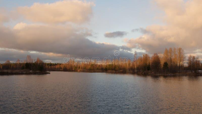 Quarry湖 库存照片