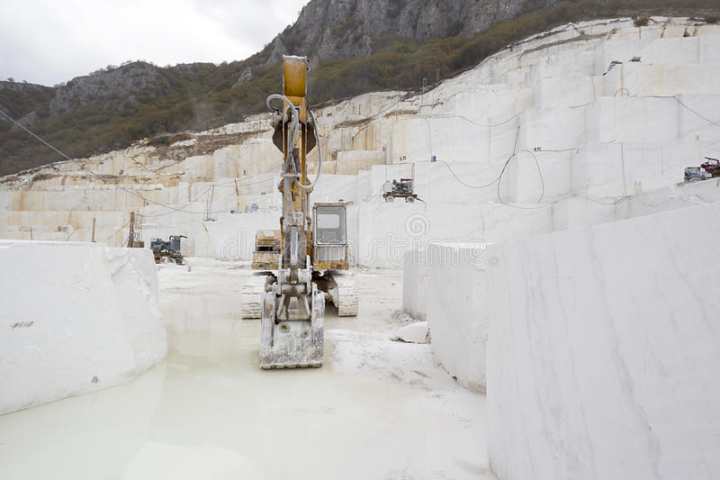 Quarry of  marble