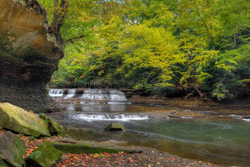 Quarry Rock Falls stock photo