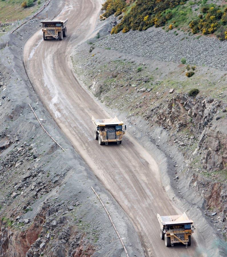 Quarry Vehicles Stock Image