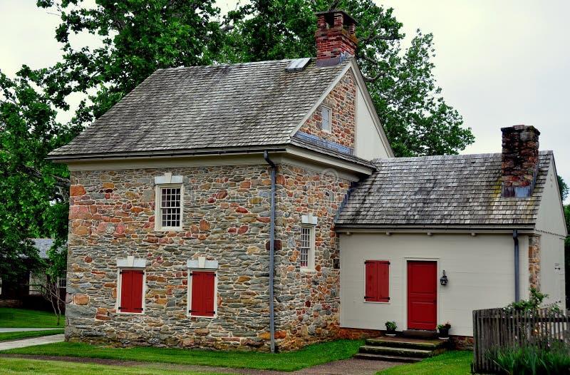 Quarryville, PA: Lugar de nascimento de Robert Fulton fotos de stock royalty free