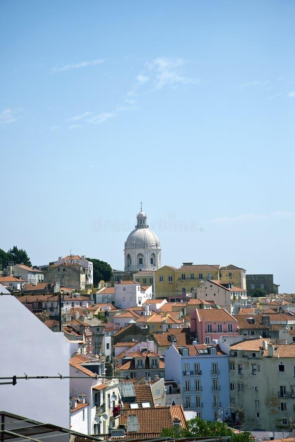 Quart d'Alfama, Lisbonne, Portugal image stock