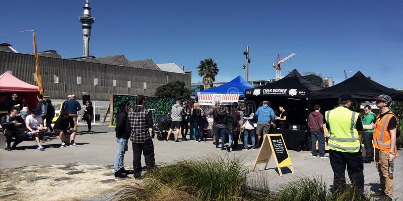 Quart de Wynyard à Auckland, Nouvelle-Zélande photos stock