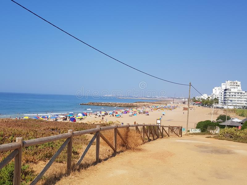 Quarteira Πορτογαλία στοκ φωτογραφία