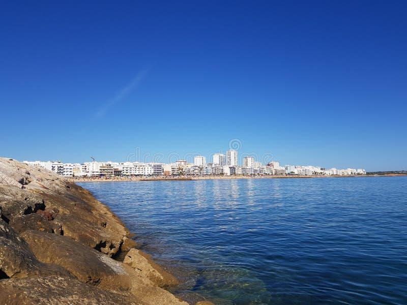 Quarteira Πορτογαλία στοκ εικόνα με δικαίωμα ελεύθερης χρήσης