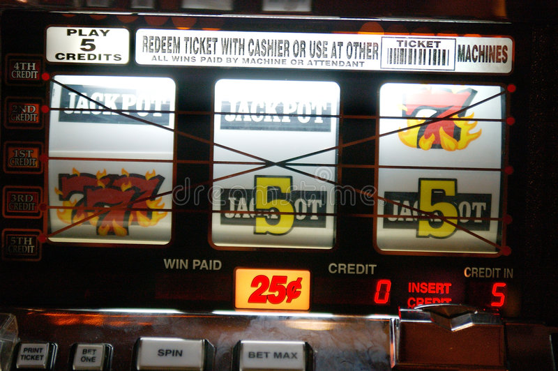 Quarter Slots stock photos