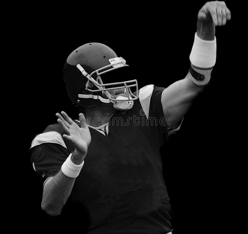 Quarterback royalty free stock image