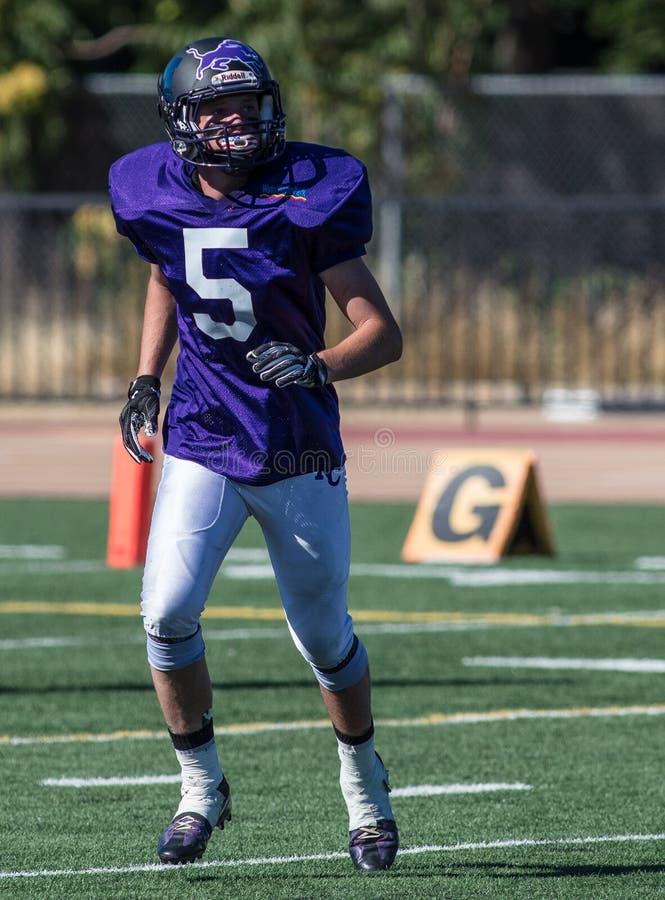 quarterback imagens de stock