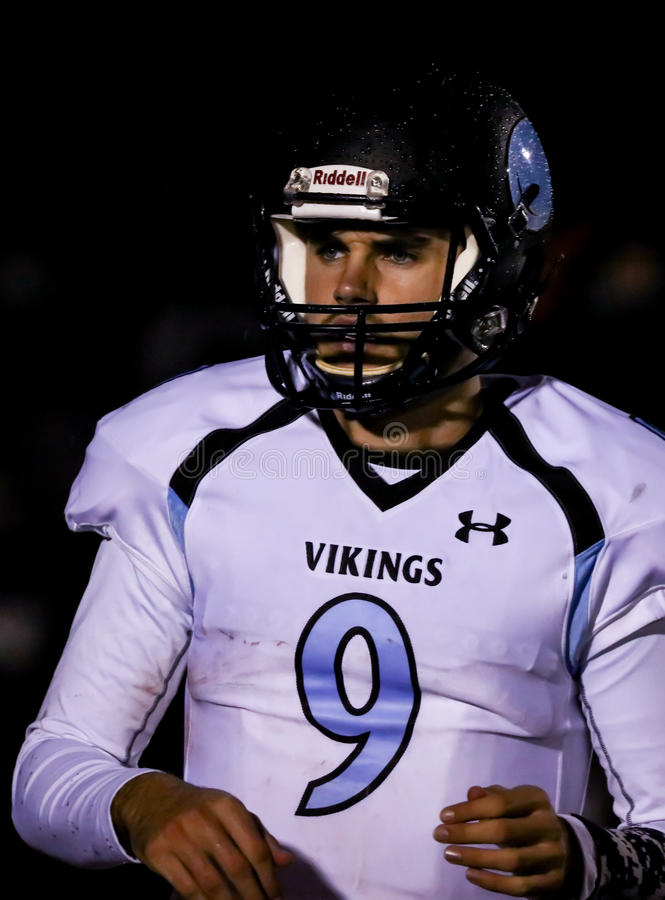 quarterback foto de stock