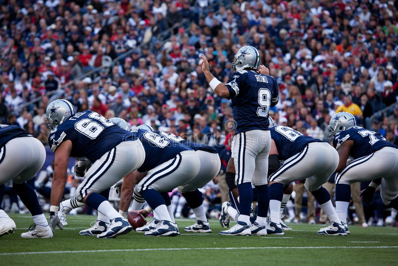 Quarterback Tony Romo   stockfotografie